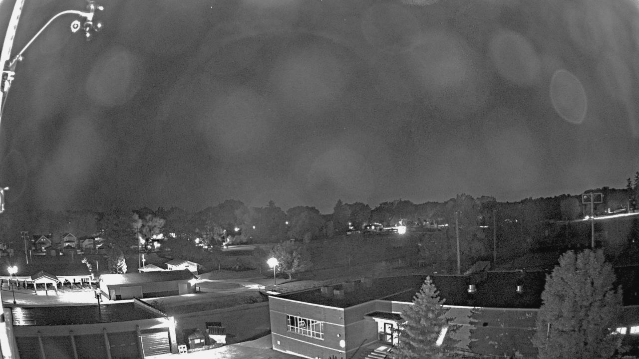 Current weather snapshot from atop of Beecher Elementary School