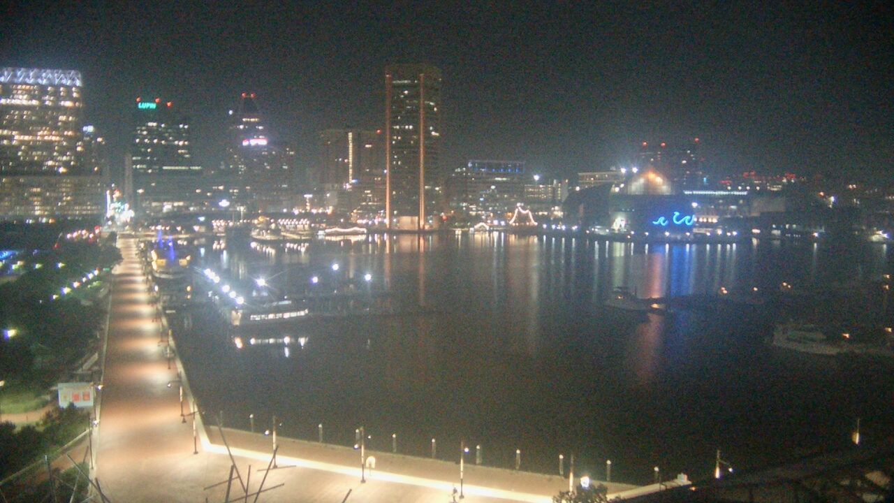 Live Camera from Maryland Science Center, Baltimore, MD 21230