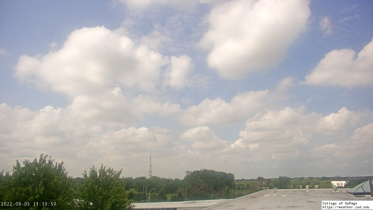 Live Camera from College of DuPage, Glen Ellyn, IL 60137