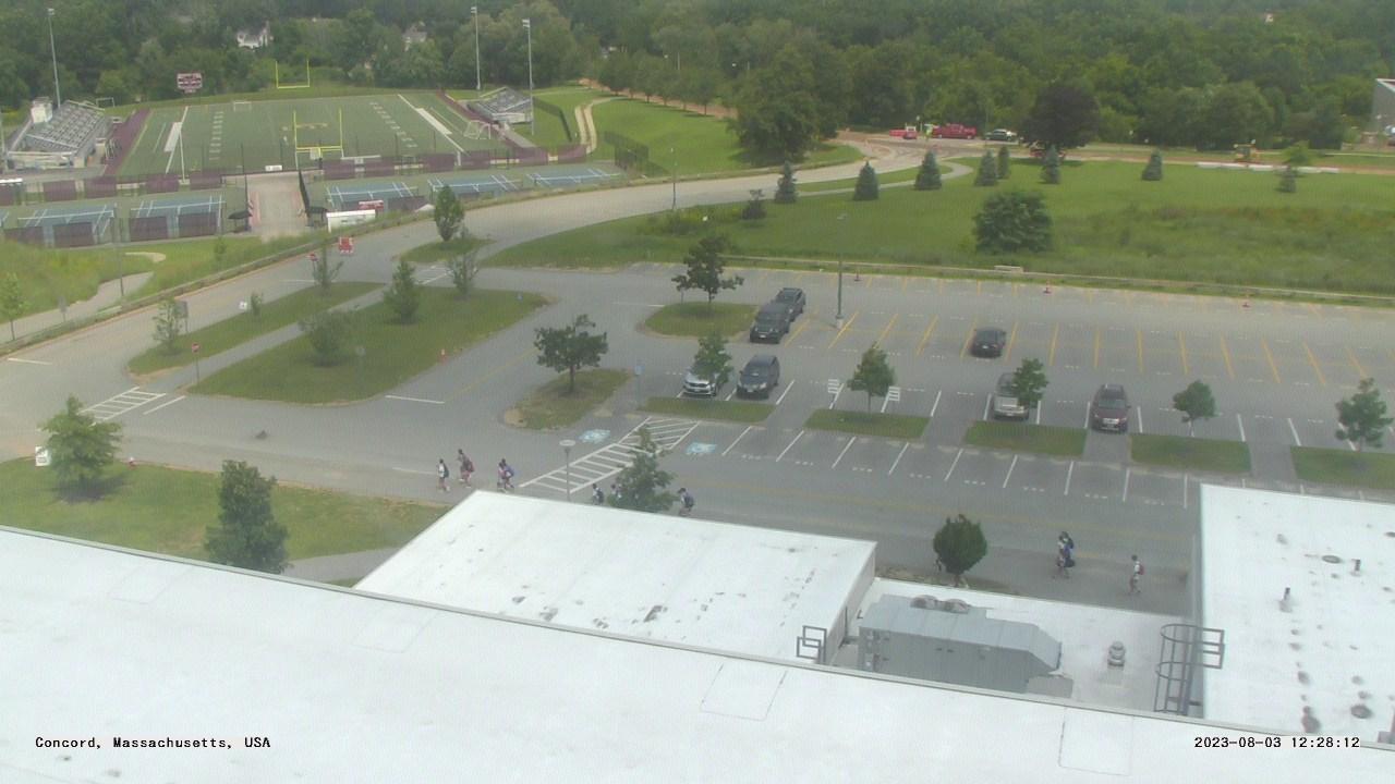 Live Camera from Concord-Carlisle HS, Concord, MA 01742