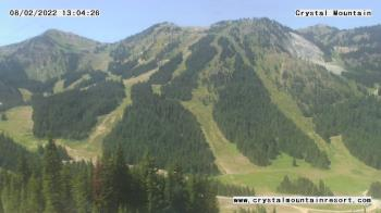 Live Camera from Crystal Mountain Inc, Enumclaw, WA