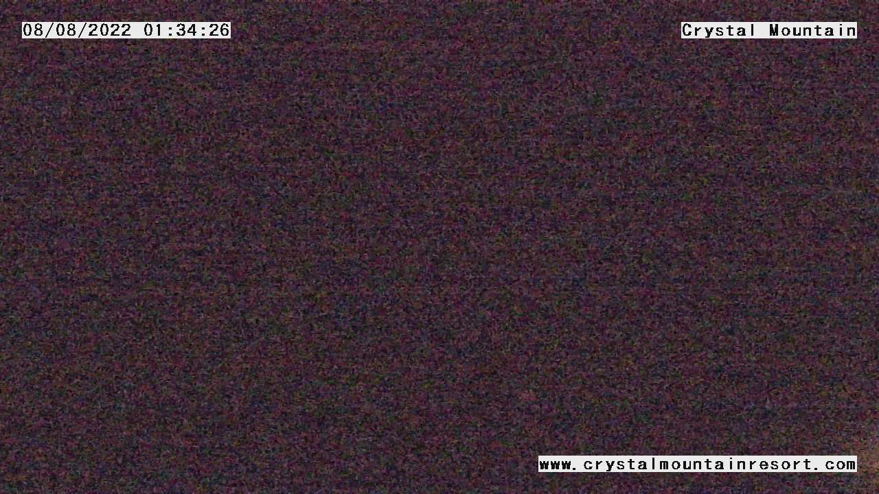 Crystal Mountain Ski Resort Web Cam