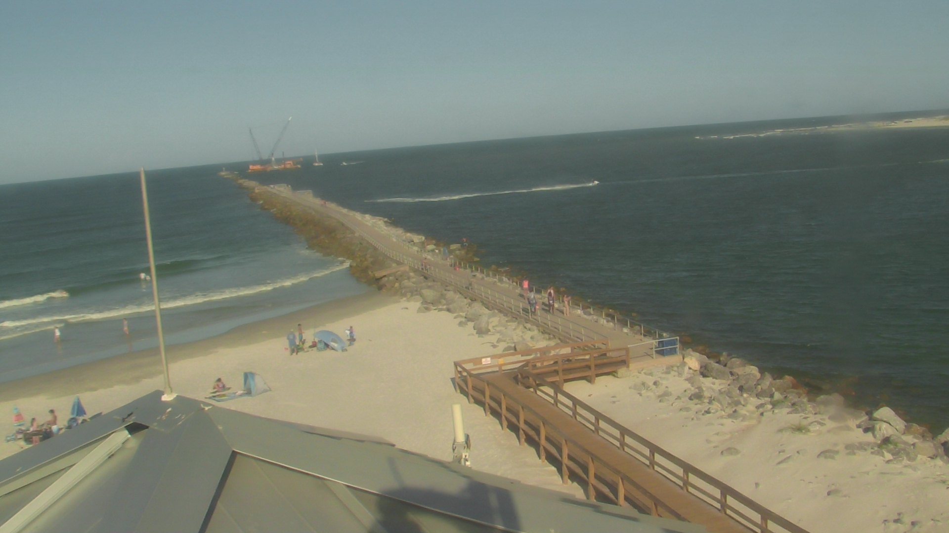 Live Camera from Volusia County - Ponce Control Tower, Ponce Inlet, FL 32127