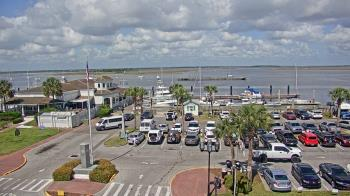 Live Camera from Marina Seafood Restaurant, Fernandina Beach, FL