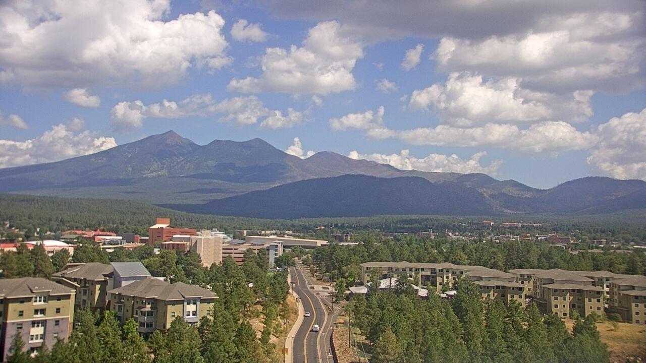 Live Camera from Northern Arizona University, Flagstaff, AZ 86001