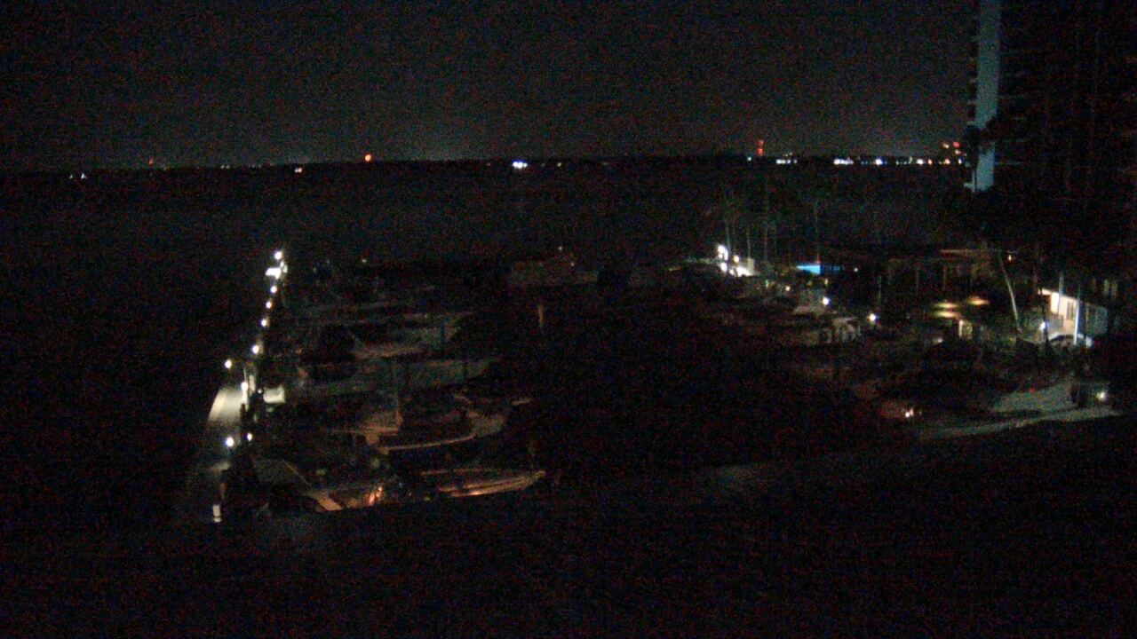 Live Camera from Pinchers Marina at Edison Ford, Fort Myers, FL 33901