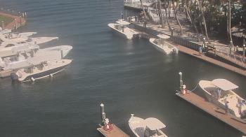 Live Camera from Sanibel Harbour Yacht Club, Fort Myers, FL