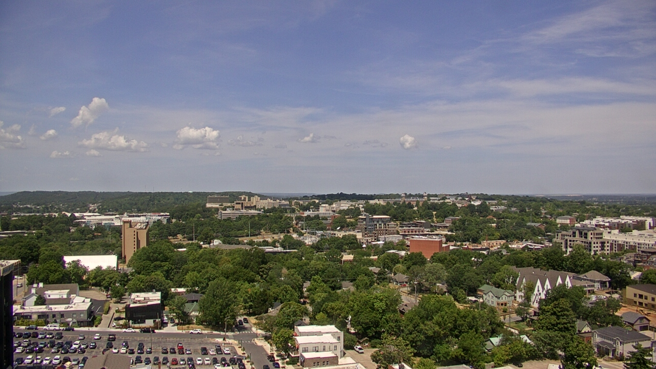Live Camera from Hotel Chancellor, Fayetteville, AR 72701