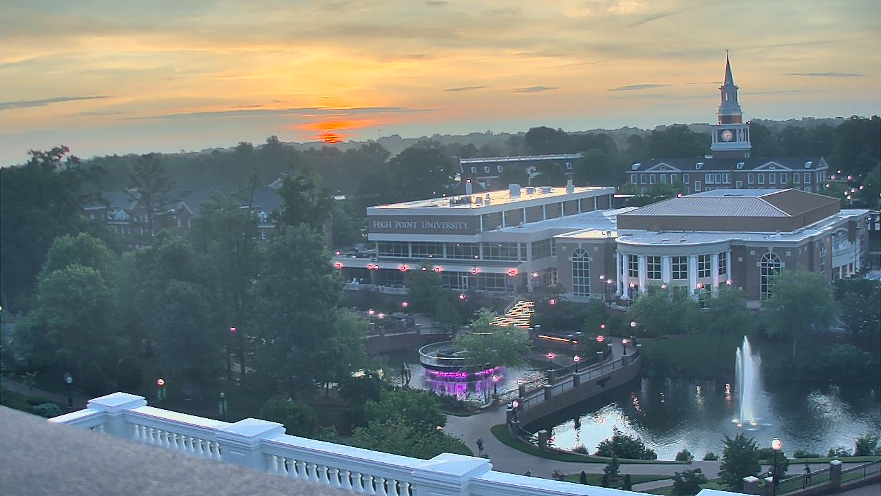 Live Camera from High Point University, High Point, NC 27262
