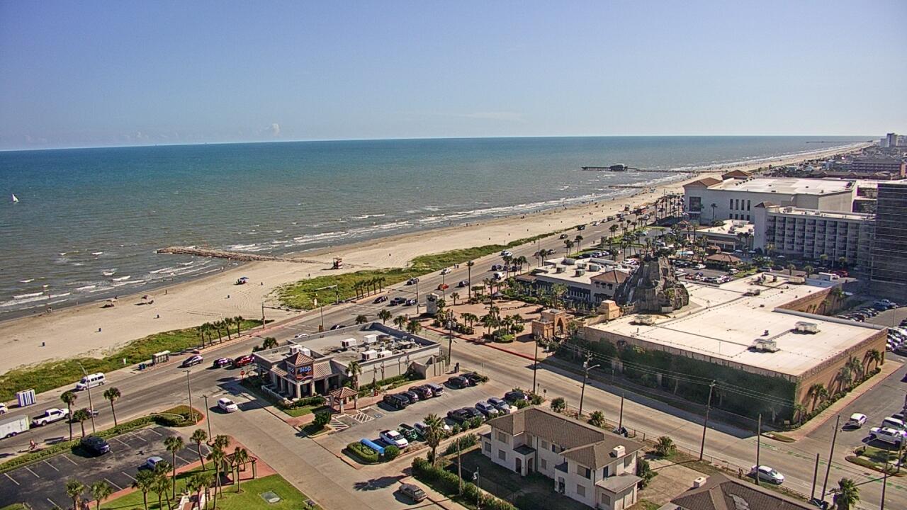 Live Camera from San Luis Resort, Galveston, TX 77551