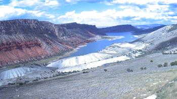 Live Camera from Flaming Gorge, Manila, UT