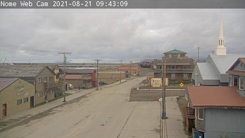 Live Camera from Nome Alaska Camera, Nome, AK 99762