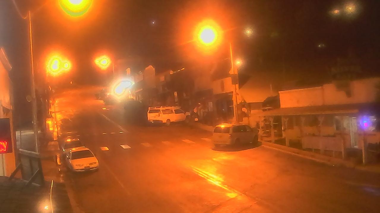 Live Camera from Overland Hotel, Pioche, NV 89043