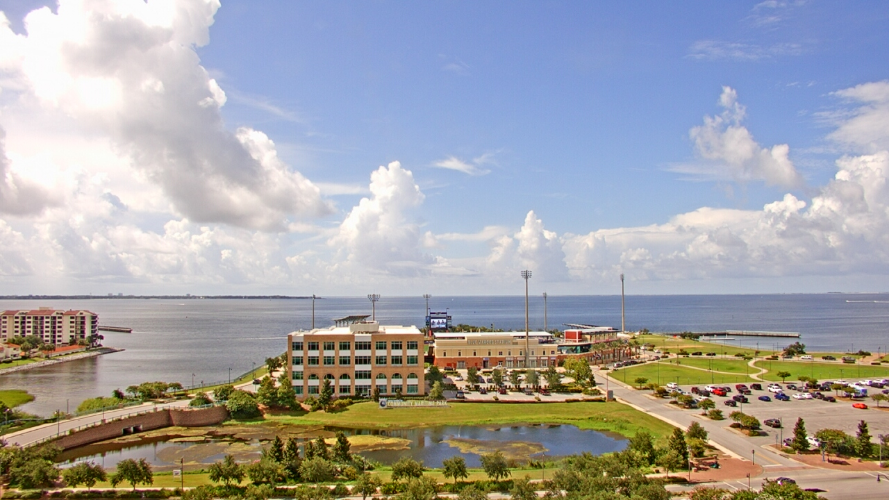 Live Camera from City of Pensacola City Hall, Pensacola, FL 32502