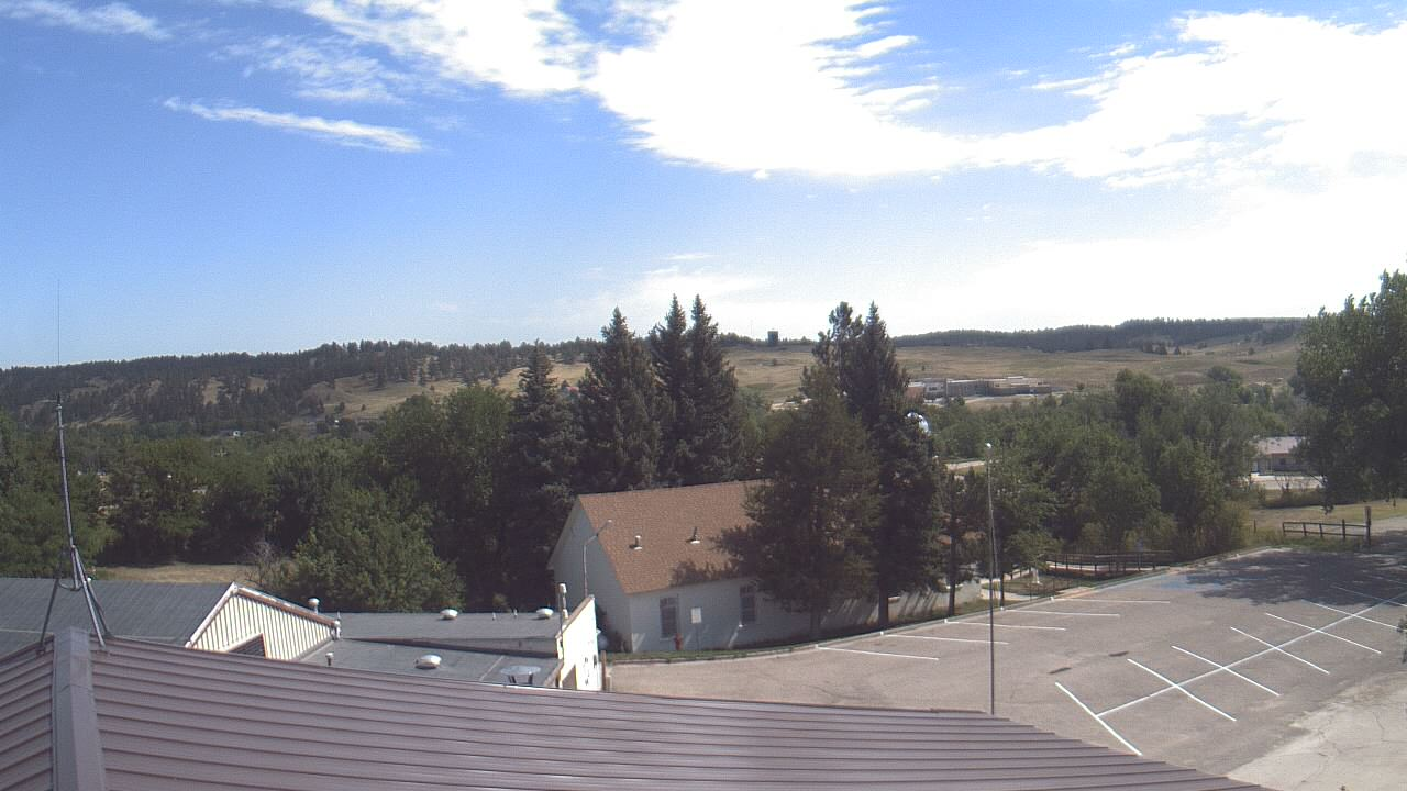 Live Camera from Our Lady of Lourdes Elementary, Porcupine, SD 57772