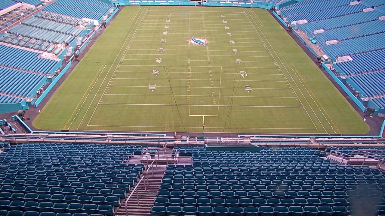Live Camera from Sun Life Stadium, Miami, FL 33056