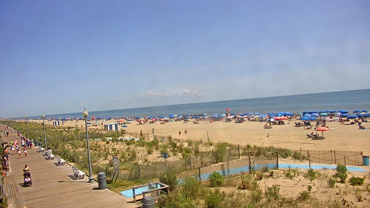 Live Camera from Boardwalk Plaza Hotel, Rehoboth Beach, DE 19971