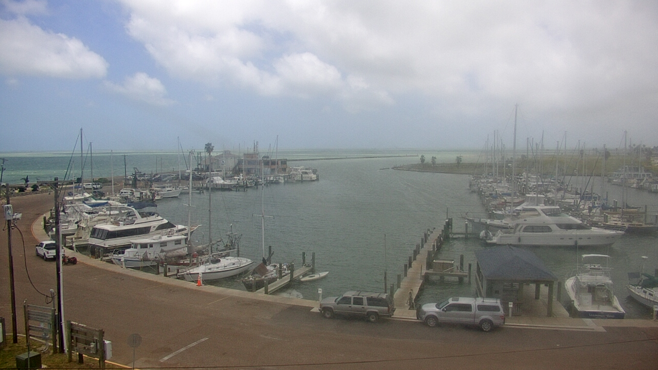Live Camera from Texas Maritime Museum, Rockport, TX 78382