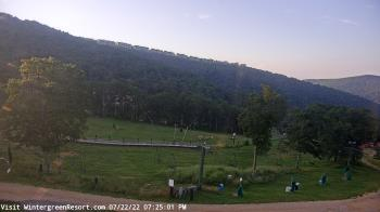 Live Camera from Wintergreen Mtn. at 3650 ft. elev., Nellysford, VA