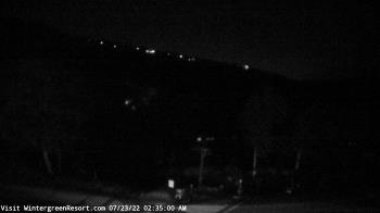 Live Camera from Wintergreen Mtn. at 3650 ft. elev., Nellysford, VA 22958