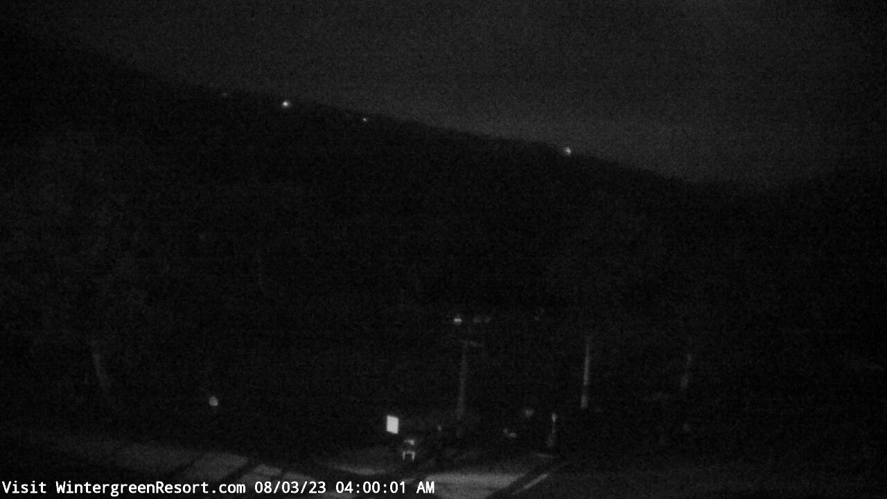 Live Camera from Wintergreen Mtn. at 3650 ft. elev., Nellysford, VA 22958