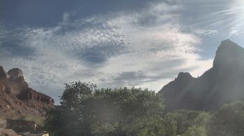 Live Camera from Zion Canyon Theatre, Springdale, UT