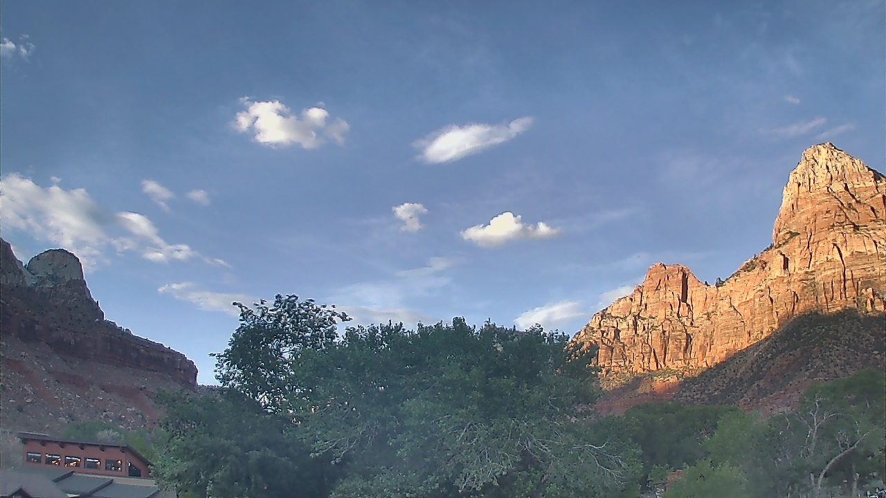 Live Camera from Zion Canyon Village, Springdale, UT 84767